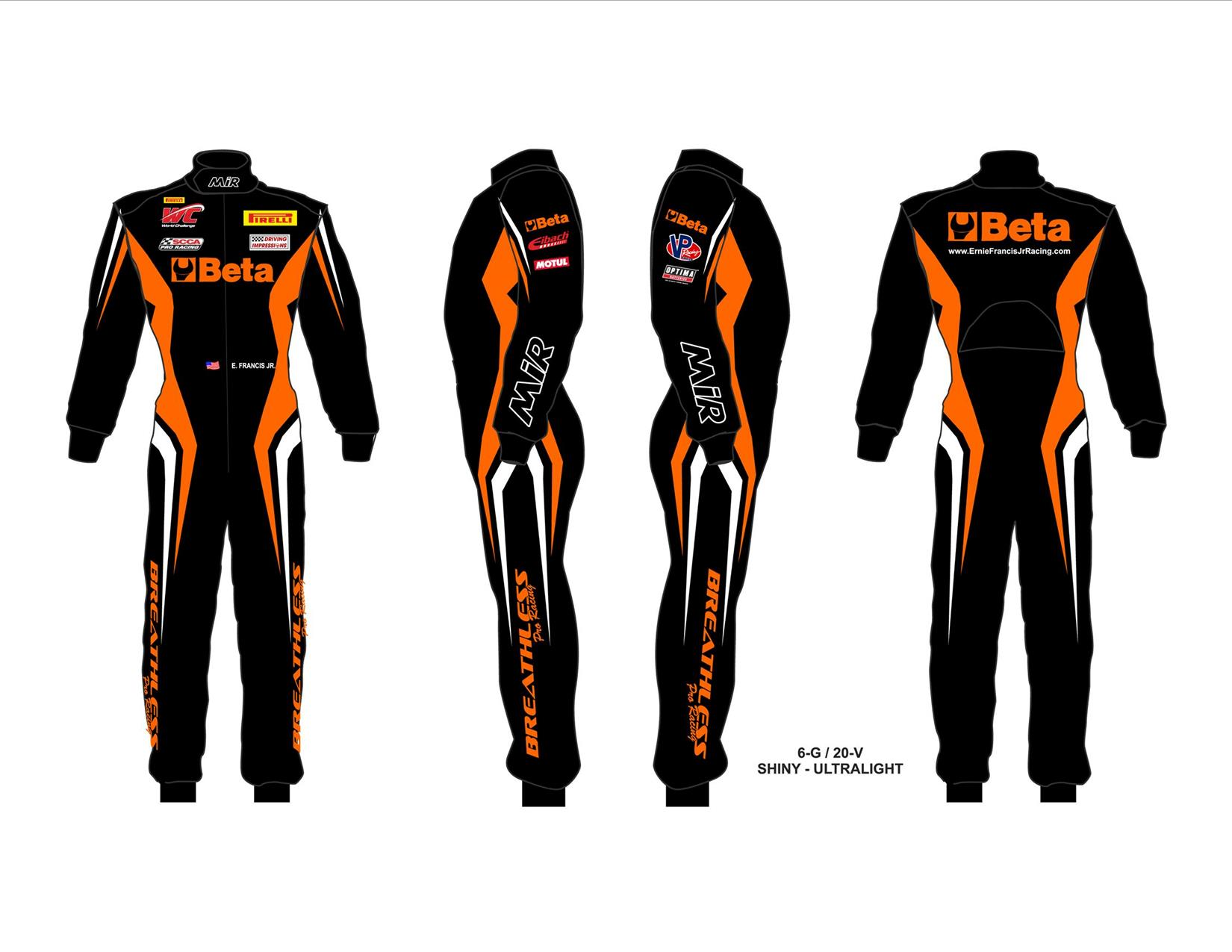 Racing Fire Suits >> Beta Tools sponsors the Breathless Racing Team - TeamDI
